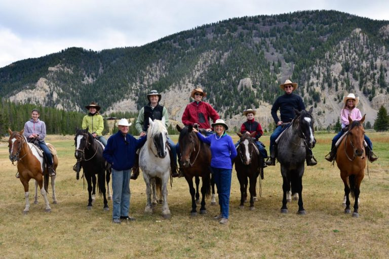 Dude Ranch Montana Family
